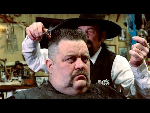 Hair cutting - How To Cut A Flat Top Hair Cut  — Cliffs Barber Corral Tutorial 8