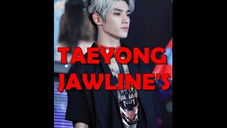 LOOK ! Taeyong's jawline has received countless compliments from fans