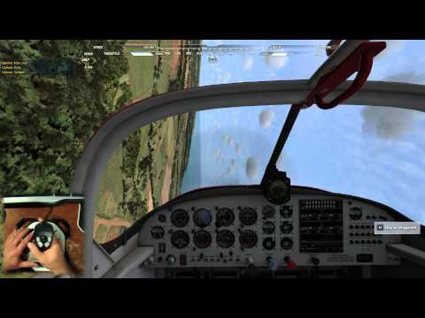 Microsoft Flight - Missions - Small Airstrip Photo Project - Joystick Cam