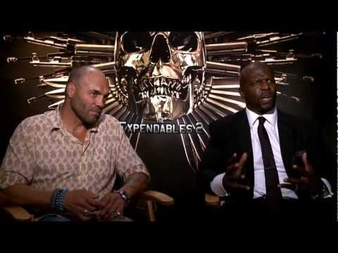 The Expendables 2 Talk with Casts