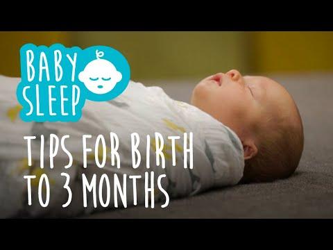 Baby sleep: Tips for newborns