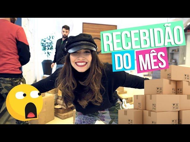 RECEBIDÃO DO MÊS - Taciele Alcolea