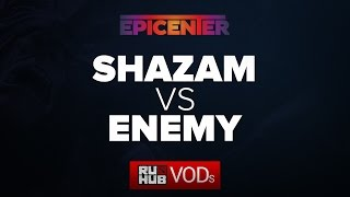 EnemyGG vs Shazam, game 1