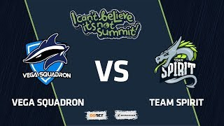 Vega Squadron vs Team Spirit, Game 1, Group Stage, I Can't Believe It's Not Summit