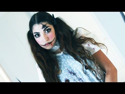 Tutoriel maquillage : Poupée psychopathe
