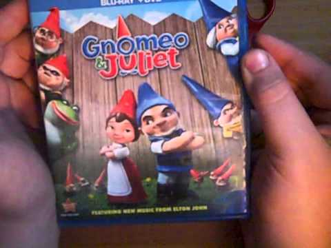 Gnomeo and Juliet Bluray Unboxing