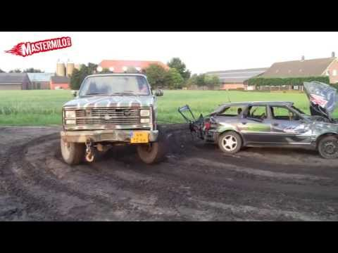 How to remove an Audi 80 engine with a Chevy K30