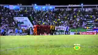 Hino Nascional do Jogo de ontem 10/02/16 Palmeiras X Oeste Ao Vivo Assista