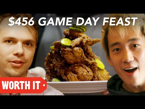 10 Game Day Food Vs. 456 Game Day Food в Super Bowl 2018