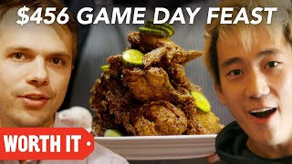 Video $10 Game Day Food Vs. $456 Game Day Food • Super Bowl 2018 MP3, 3GP, MP4, WEBM, AVI, FLV Agustus 2019