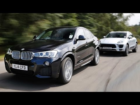BMW X4 vs Porsche Macan: sports SUV showdown