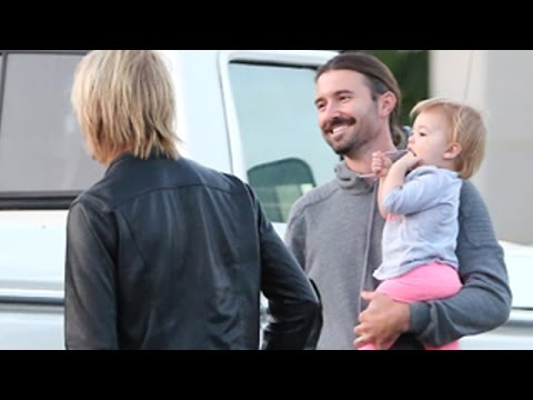 Brandon Jenner And Daughter Eva In Calabasas