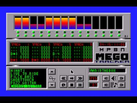Apple IIgs MegaTracker demo