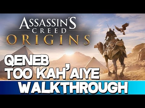 Assassin's Creed Origins | Qeneb Too Kah'Aiye Walkthrough
