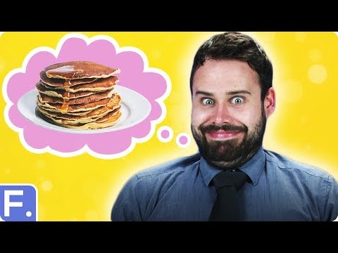 Irish People Try American Breakfasts