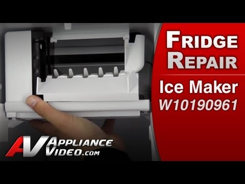 Ice Maker – Refrigerator Repair (Whirlpool # W10190961 Replacement Part)