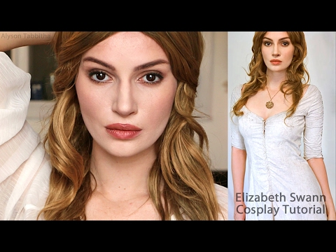 Elizabeth Swann Makeup / Wig / Costume - Cosplay Tutorial