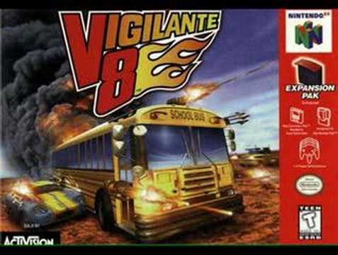 vigilante 8 nintendo 64 cheat codes