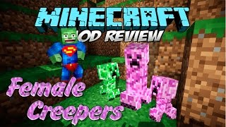 FEMALE CREEPERS MOD - Creepers hembra super monos [Forge][1.7.2/1.7.10][Español]