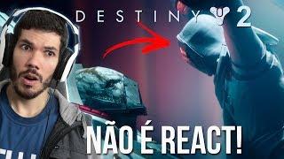 Assistindo e comentando sobre o Trailer de Lançamento de Destiny 2 dublado em português PT-BR. PS: Tive que REUPAR o vídeo pq o youtube o deixou com ...