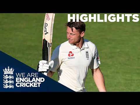 India On Top as Buttler Hits Maiden Test Ton | England v India 3rd Test Day 4 2018 - Highlights (видео)