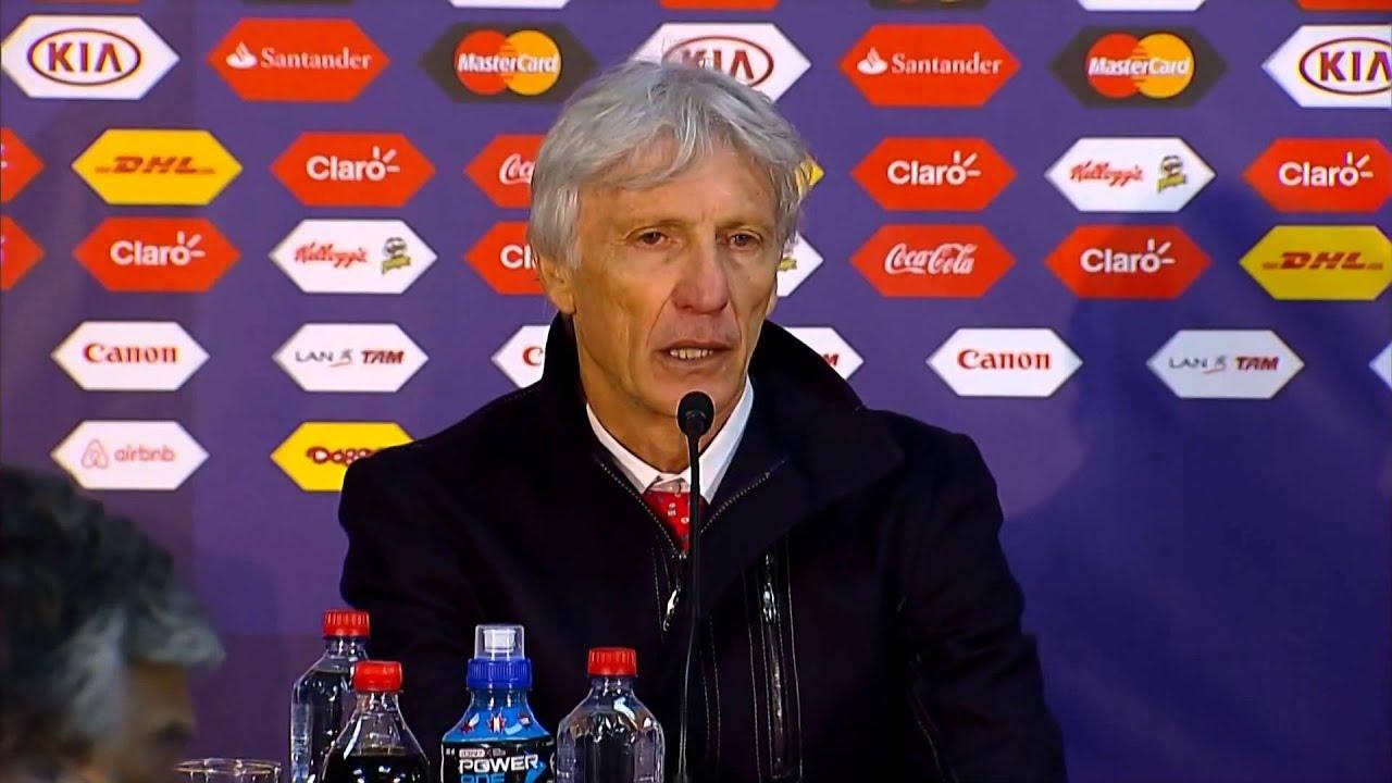 """Copa América 2015: Pékerman: """"Não podemos fazer drama por uma partida"""" #CopaAmericaChile2015"""