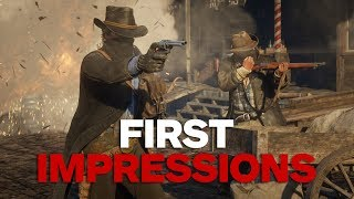 First Impressions of Red Dead Redemption 2 in Action