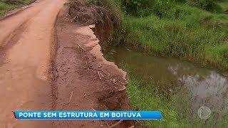 Ponte em Boituva tem tirado o sono dos moradores da região