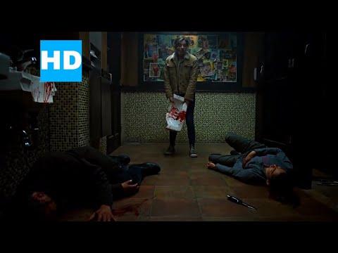 MARVEL'S THE PUNISHER S1x01 (2019)   BATHROOM FIGHT SCENE   NETFLIX (HD)