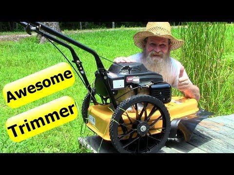 รถตัดหญ้านั่งขับแบบเข็น นำเข้าจากอเมริกาทั้งคัน