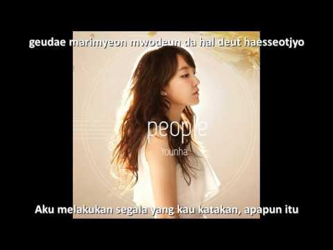 LAGU TERSEDIH KOREA 윤하(Younha) - 기다리다(Waiting) // Subtitle Indonesia