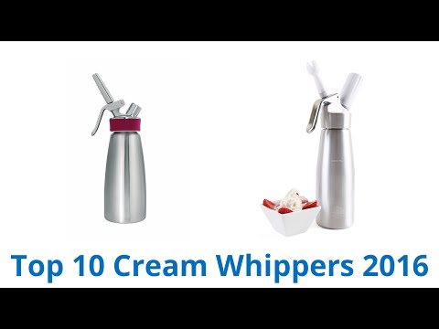 10 Best Cream Whippers 2016