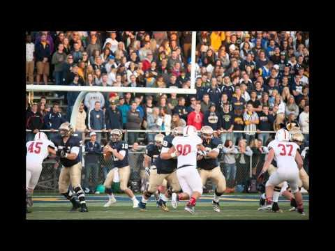 UW-Eau Claire Football vs. Saint John's - Coach Glaser & Highlight