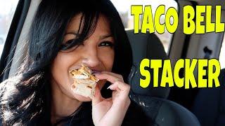 Video Taco Bell Stacker Food Review (feat. BADDESTXO TV) MP3, 3GP, MP4, WEBM, AVI, FLV April 2018