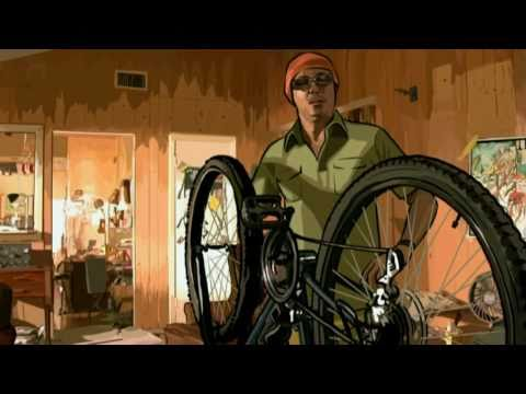 A scanner darkly, bike.