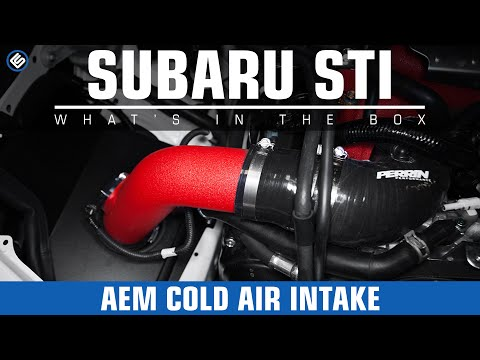 AEM Red Cold Air Intake – Subaru STI 2015 Install/Review