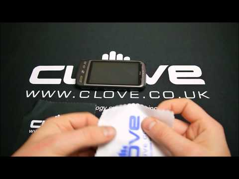 Clove Technology Screen Cleaning Cloth Mp3