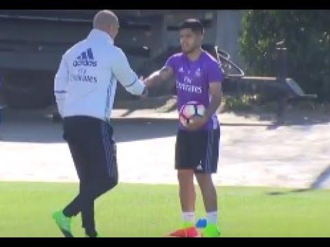 Sergio Díaz, motivado con Zidane