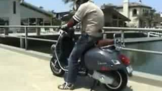 4. 2008 Vespa GTV 250ie Scooter Review