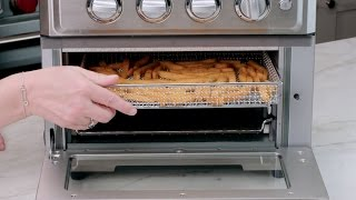 Air Fryer Toaster Oven Demo Video Icon