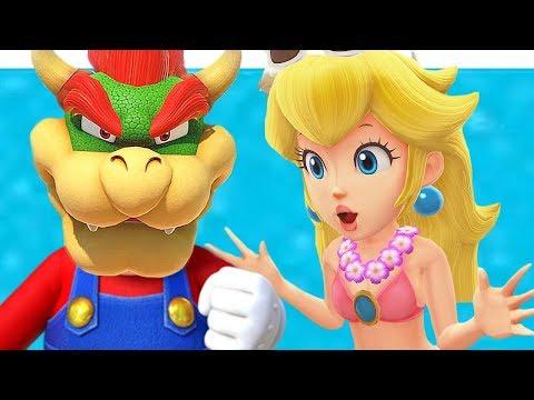 Dibujos de amor - La Relación Entre Mario Y Peach Es Amor o Mentira?