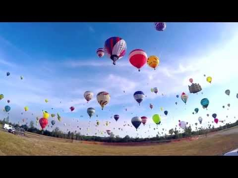 WATCH: 433 Hot Air Balloons Set New World Record