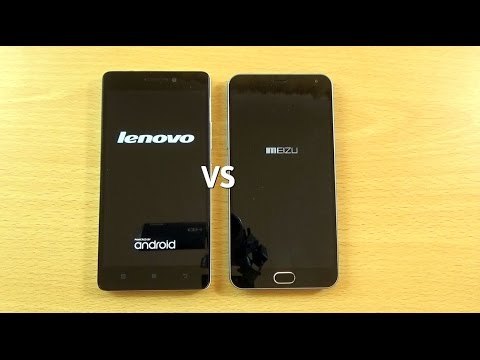 Meizu M2 Note VS Lenovo K3 Note - Speed & Camera Test!