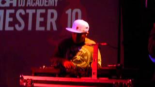 Incredible DJ Q Bert_Scratch 10 yr. Anniversary @ Canal Room_Jan 2013.mov
