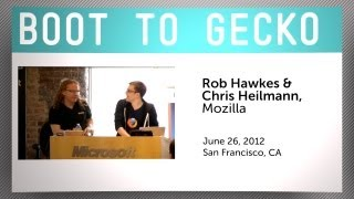 Boot to Gecko with Mozilla's Rob Hawkes and Christian Heilmann