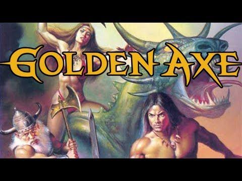 golden axe megadrive test