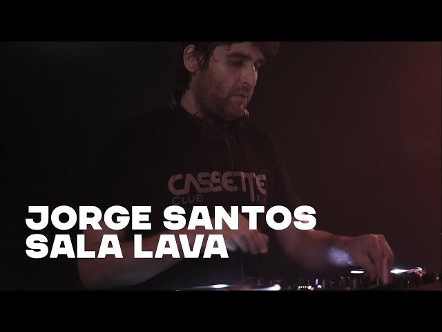 JORGE SANTOS@SALA LAVA 18-3-20