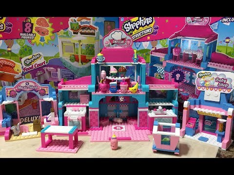 Shopkins Kinstructions Chef Club Academy Lego Setup