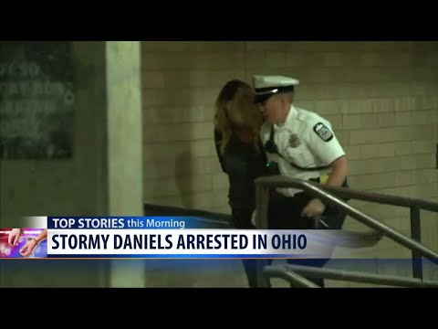 Stormy Daniels arrested