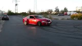 BMW M3 wybucha przy upalaniu przez małolata